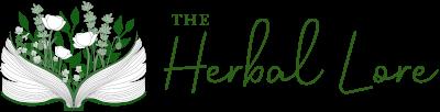 Logo of The Herbal Lore in green tones