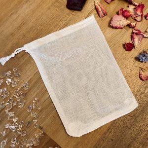 Reusable Muslin Drawstring Bag