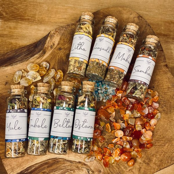 Wheel of the Year Incense Blend Set